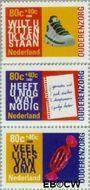 Nederland NL 1757#1759  1998 Ouderen  cent  Gestempeld