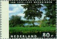 Nederland NL 1816  1999 Vier jaargetijden 80 cent  Gestempeld