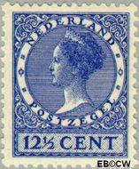 Nederland NL 185  1928 Koningin Wilhelmina- Type 'Veth' 12½ cent  Gestempeld