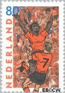 Nederland NL 1888  2000 EK voetbal 80 cent  Gestempeld