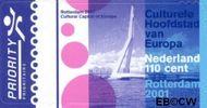 Nederland NL 1967#  2001 Rotterdam culturele hoofdstad  cent  Postfris