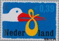 Nederland NL 2047#  2002 Geboorte- zegel  cent  Gestempeld