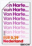 Nederland NL 2057  2002 Felicitatie- zegels 39 cent  Gestempeld