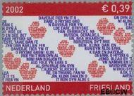 Nederland NL 2065  2002 Provincie- zegel Friesland 39 cent  Gestempeld