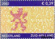 Nederland NL 2071  2002 Provincie- zegel Zuid-Holland 39 cent  Postfris