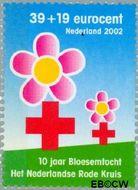 Nederland NL 2083#  2002 Rode Kruis  cent  Gestempeld