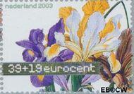 Nederland NL 2169  2003 Aquarellen van bloemen 39+19 cent  Gestempeld