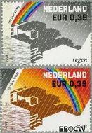 Nederland NL 2248#2249  2004 K.N.M.I.  cent  Gestempeld