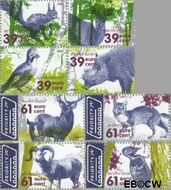 Nederland NL 2282a#2283d  2004 De Veluwe  cent  Gestempeld