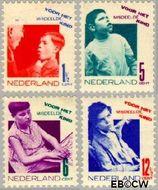 Nederland NL 240#243  1931 Misdeelde kind   cent  Gestempeld