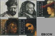 Nederland NL 2429#2433  2006 Rembrandt  cent  Gestempeld