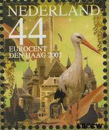 Nederland NL 2517a#  2007 Mooi Nederland- Den Haag  cent  Gestempeld