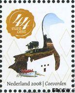 Nederland NL 2564a#  2008 Mooi Nederland- Coevorden  cent  Gestempeld