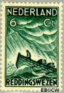 Nederland NL 259  1933 Zeemanszegels 6+4 cent  Gestempeld