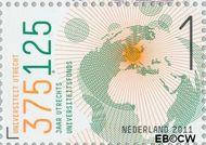 Nederland NL 2795  2011 Universiteit van Utrecht 1 cent  Gestempeld