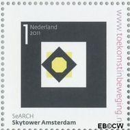 Nederland NL 2809  2011 Stad van Nederland 1 cent  Gestempeld