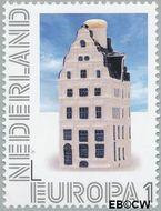Nederland NL 2898  2012 Delftsblauw Europa 1 cent  Gestempeld