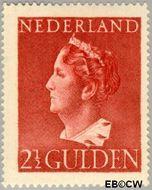 Nederland NL 347  1946 Wilhelmina- Type 'Konijnenburg' 250 cent  Gestempeld