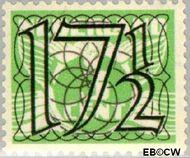 Nederland NL 361  1940 Cijfer type 'Guilloche' of ' tralie' 17½ cent  Postfris