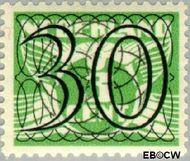 Nederland NL 365  1940 Cijfer type 'Guilloche' of ' tralie' 30 cent  Gestempeld