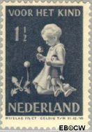 Nederland NL 374  1940 Kind met bloemen 1½+1½ cent  Gestempeld