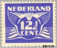 Nederland NL 383  1941 Vliegende Duif 12½ cent  Gestempeld