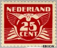 Nederland NL 388  1941 Vliegende Duif 25 cent  Postfris