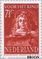 Nederland NL 401  1941 Schilderij Rembrandt 7½+3½ cent  Gestempeld