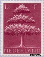 Nederland NL 406  1943 Germaanse symbolen 1½ cent  Gestempeld