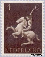 Nederland NL 410  1943 Germaanse symbolen 4 cent  Postfris
