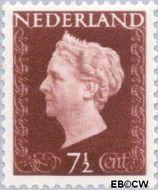 Nederland NL 477  1947 Koningin Wilhelmina- Type 'Hartz' 7½ cent  Gestempeld