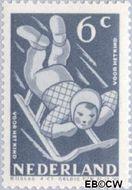 Nederland NL 510  1948 Sport en beweging 6+4 cent  Gestempeld