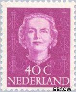 Nederland NL 528  1949 Koningin Juliana- Type 'En Face' 40 cent  Gestempeld