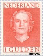 Nederland NL 534  1949 Koningin Juliana- Type 'En Face' 100 cent  Postfris