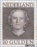 Nederland NL 537  1949 Koningin Juliana- Type 'En Face' 1000 cent  Gestempeld