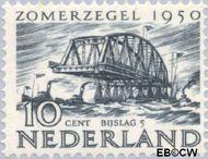Nederland NL 554  1950 Wederopbouw 10+5 cent  Gestempeld
