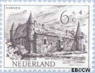 Nederland NL 570  1951 Kastelen 6+4 cent  Gestempeld