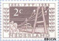 Nederland NL 592  1952 Postzegeltentoonstelling I.T.E.P. 2 cent  Postfris