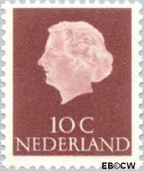 Nederland NL 617  1953 Koningin Juliana- Type 'En Profile' 10 cent  Postfris