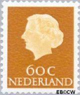 Nederland NL 630b  1971 Koningin Juliana- Type 'En Profile' 60 cent  Postfris