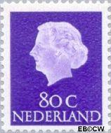 Nederland NL 634b  1971 Koningin Juliana- Type 'En Profile' 80 cent  Gestempeld