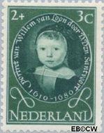 Nederland NL 666  1955 Kinderportretten 2+3 cent  Postfris