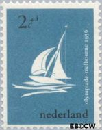Nederland NL 676  1956 Olympische Spelen- Melbourne 2+3 cent  Gestempeld