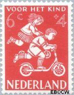 Nederland NL 716  1958 Kinderspel 6+4 cent  Gestempeld