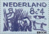 Nederland NL 724  1959 Deltawerken 8+4 cent  Gestempeld