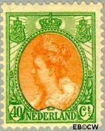 Nederland NL 73  1920 Koningin Wilhelmina- 'Bontkraag' 40 cent  Gestempeld