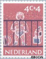 Nederland NL 731  1959 Activiteiten kinderen 4+4 cent  Gestempeld