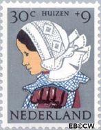 Nederland NL 751  1960 Klederdrachten 30+9 cent  Postfris