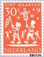 Nederland NL 763  1961 Feesten 30+9 cent  Gestempeld