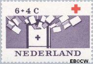 Nederland NL 796  1963 Rode Kruis 6+4 cent  Postfris